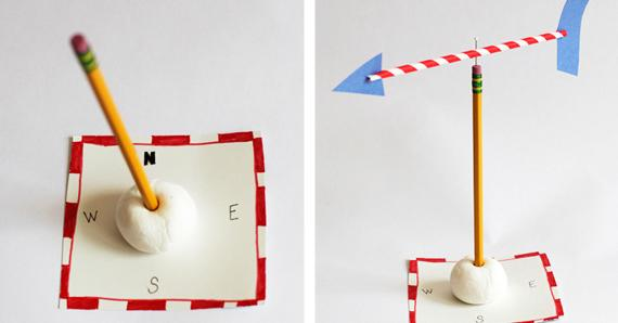 Learn about the weather with a homemade weather vane from @pbsparents - scoopnest.com