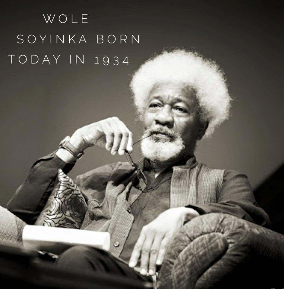 Happy birthday Wole Soyinka. Happy 81st birthday mzee was Africa. http://t.co/u6Jxf3EhEn
