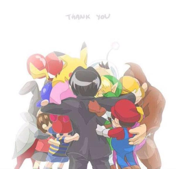 so sad to hear satoru iwata passed away. a true gaming icon. #ThankYouIwata for the awesome childhood memories… http://t.co/nnef69Zrrm