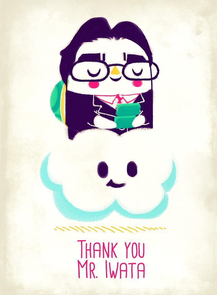 Indie dev organizing Iwata art tribute http://t.co/scvw3PHWti  #ThankYouIwata http://t.co/WIXJsgjcCo