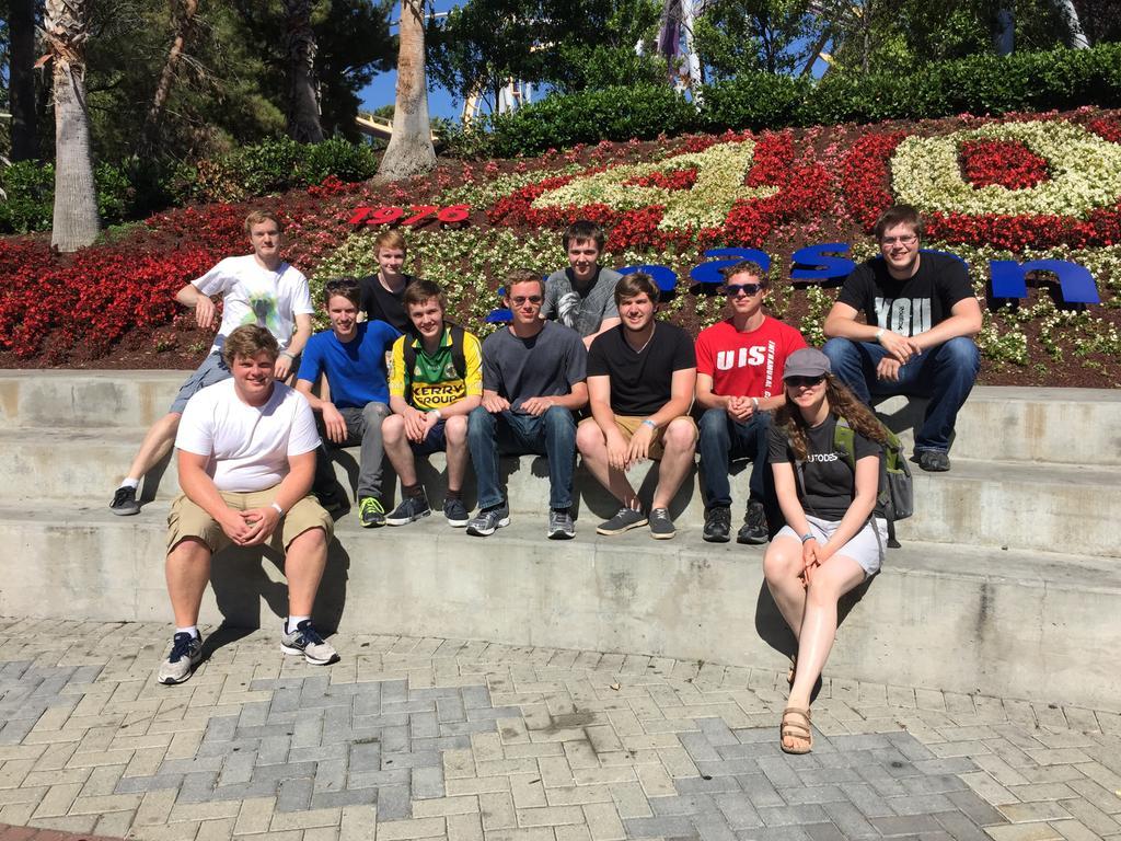 The @ROBLOX Interns and Stickmasterluke at California's Great America http://t.co/cke0teLEq2