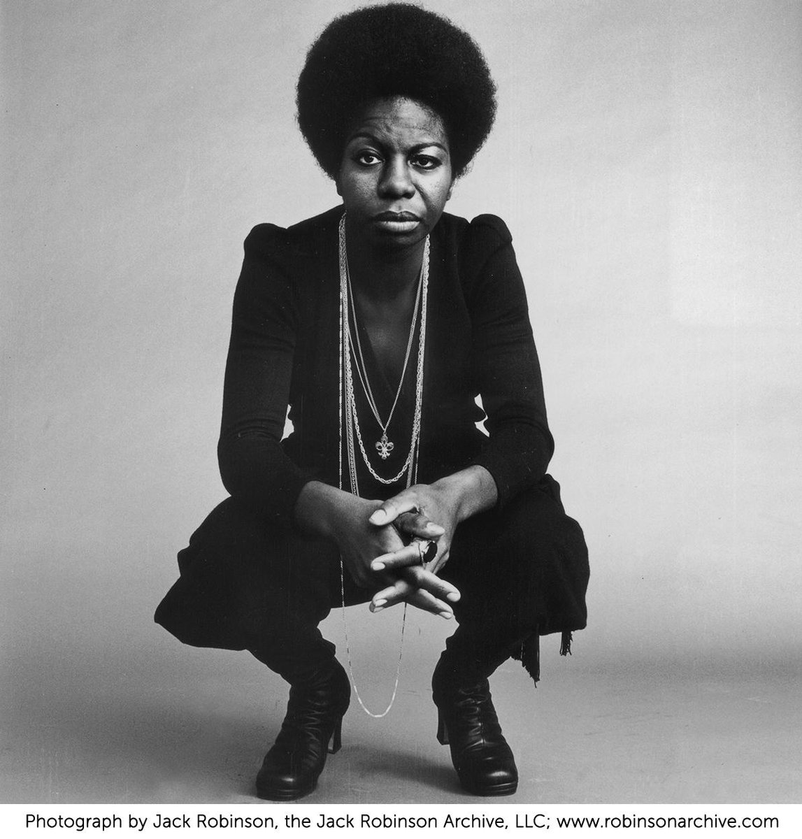 At 12, black singer/pianist Nina Simone refused to play at her recital until her parents were moved back to the front http://t.co/PqA0HzQTCQ