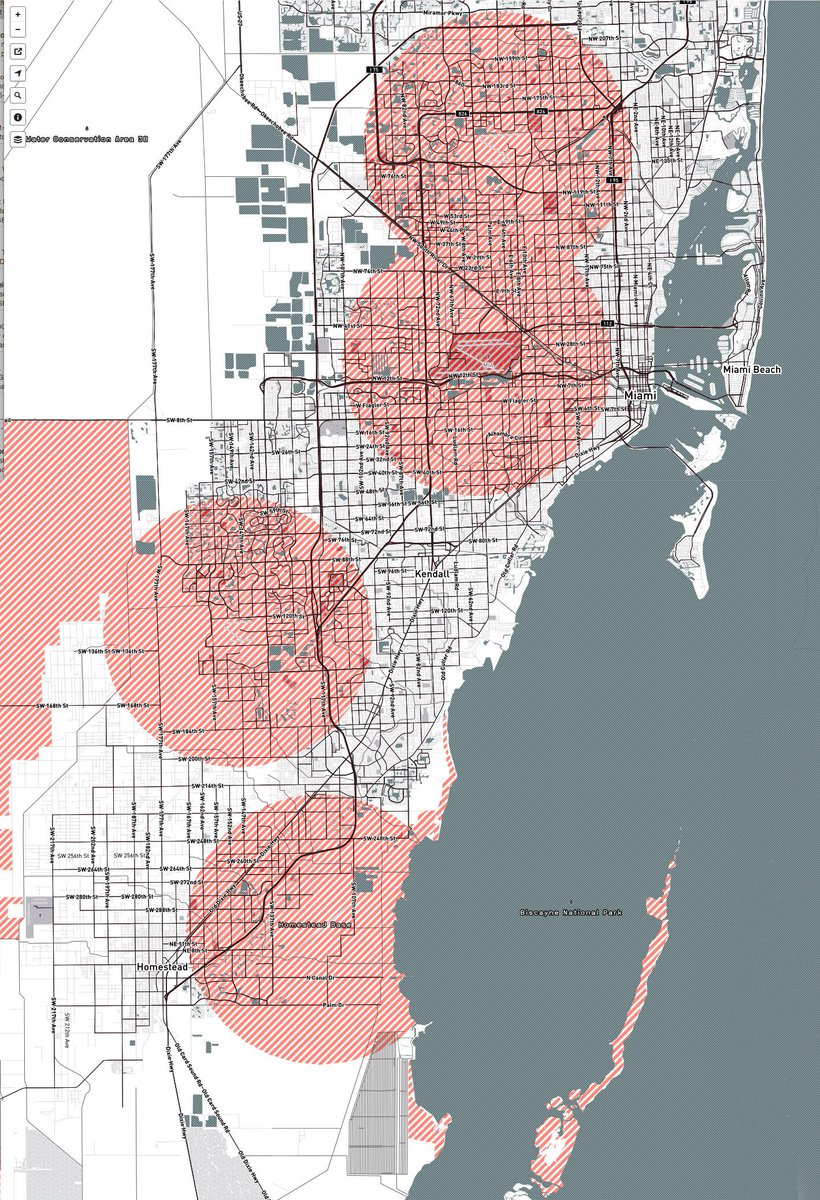 No Fly Zone Heres A Map Of Miamis Restricted Airspace For Drones - No fly zone for drones map