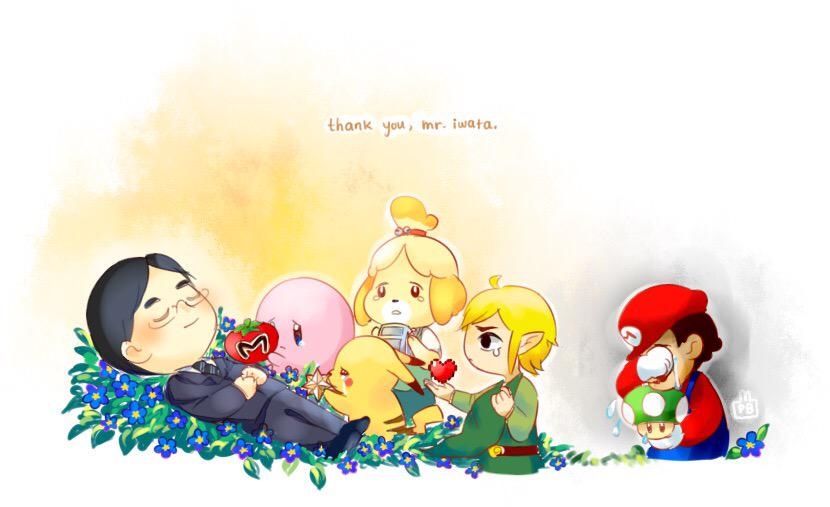 Thank For Everything, Mr. Iwata -- http://t.co/qt0pSgRHdl http://t.co/K1d4wmorLL