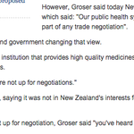 """Tim Groser in 2011: """"Pharmac not up for negotiation. You heard me."""" http://t.co/LfsuyaN4U3 http://t.co/fGfrY7wfWy"""