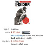 RT @imbeingindian: Hurry up guys if you r a cricket fan then  purchase.....The Insider by @cricketaakash http://t.co/esfcaIcTwB
