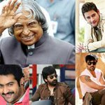 Tollywood Celebrities Mourns The Demise Of #APJAbdulKalam  http://t.co/qgPu7yzPOk