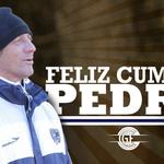 ¡¡¡Feliz cumple @TroglioPedro!!! ¡Gracias por comprometerte con nuestro Club como un tripero más! http://t.co/OYrBwcxxgv