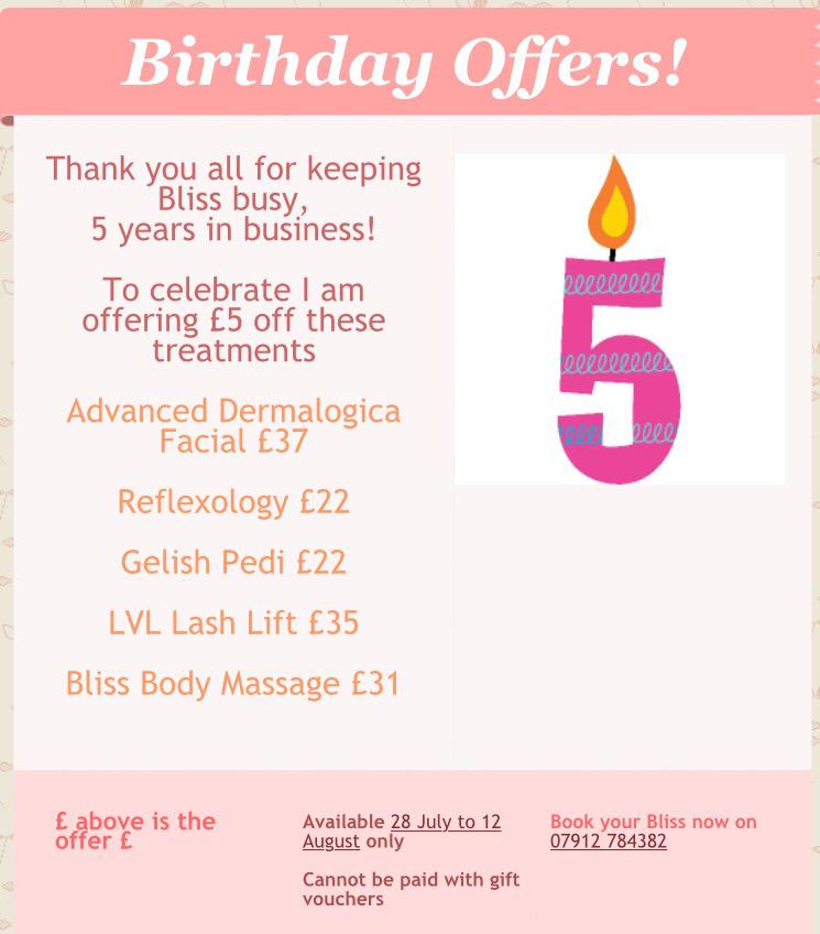 Bliss is 5!  Thank you for all your support