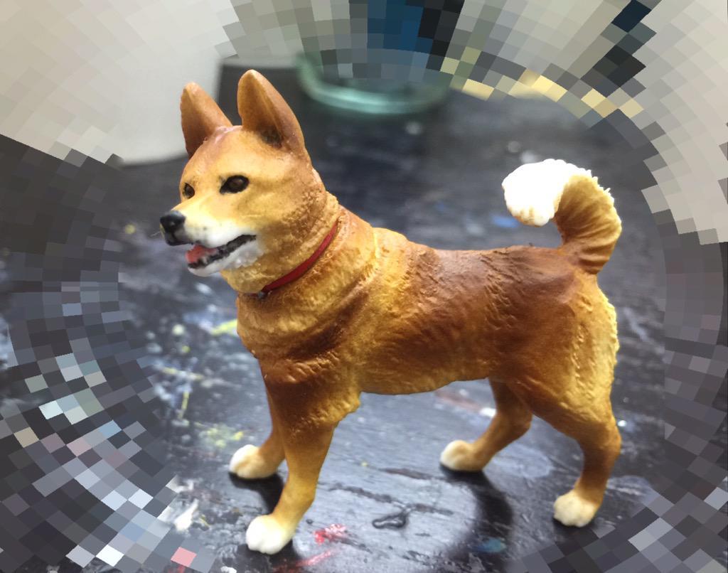 本日、突発でWFモデルカステンブースで発売されることになった『フィギュア直司(c)杉田智和』 どのくらいの人が見つけてくれたかなー? http://t.co/0kYN0eLkuy