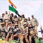RT @jameelsjam: Dear @adgpi thank you we are celebrating #KargilVijayDiwas coz you fought to protect motherland India. Jai Hind !