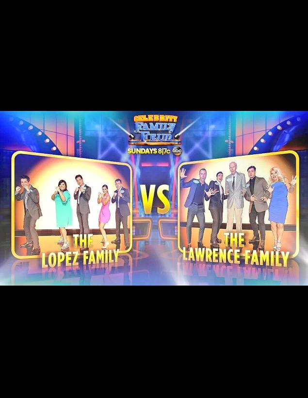 If your chilling Sunday night check out family feud cause it's on baby! Lol #abc #familyfun #Lawrence http://t.co/9tEizGbT8l