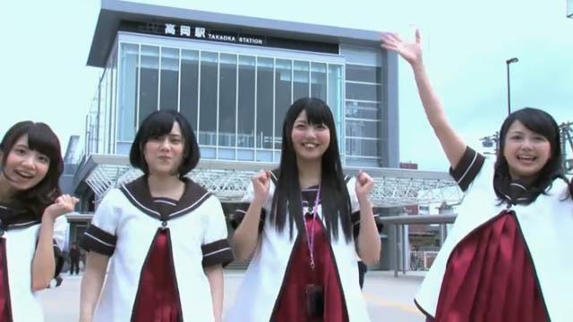高岡駅! #yuruyuri http://t.co/JZCha4FuHl