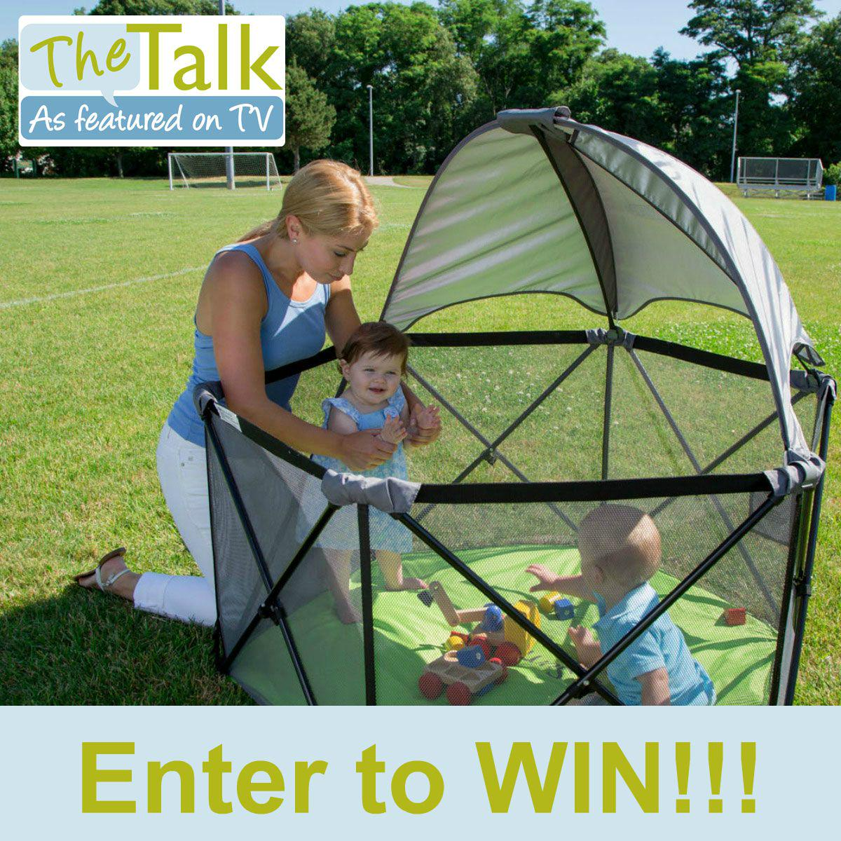 Enter to #WIN a Pop 'n Play Ultimate Playard that was featured on @TheTalk_CBS!: http://t.co/ZAb3bXSU5y #sweepstakes http://t.co/KqTmFtbMi6