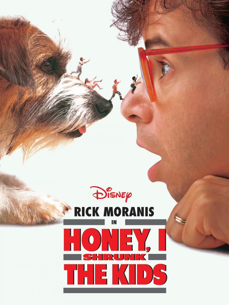 Coming up next at 4.50pm, a family treat from 1989: sci-fi comedy Honey, I Shrunk The Kids, starring Rick Moranis. http://t.co/HliSCHv5iL