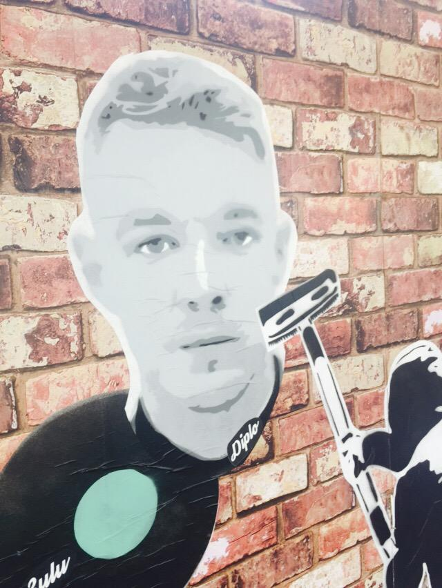 @diplo on da great wall of philly http://t.co/1B7imsipIX