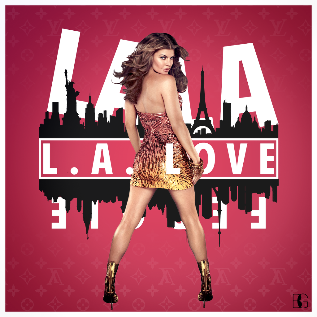 RT @PopWrapped: NOW PLAYING, @PopWrapped Headquarters: @Fergie - LA LOVE.   #OnREPEAT http://t.co/12FeInRSUS