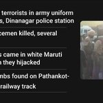 RT @ndtv: Terrorists attack police station in Punjab http://t.co/17vFBSezXq