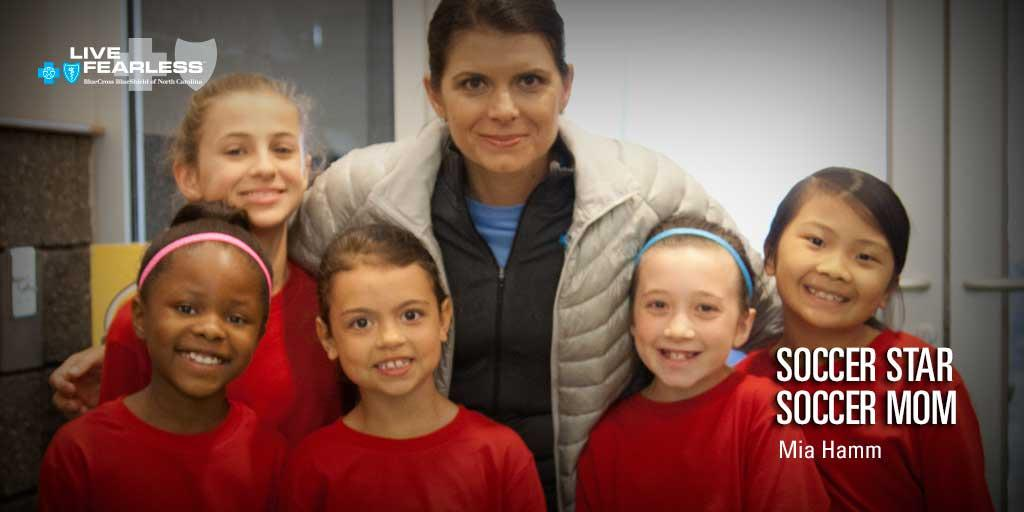 Learn why soccer legend @MiaHamm says kids should play more than one sport: http://t.co/z29I3I7UXU #LiveFearlessNC http://t.co/ALQ9dNwvz5