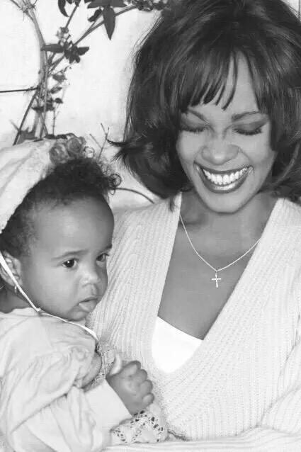 Enjoy heaven with your momma! Rest on baby girl.. #BobbiKristina