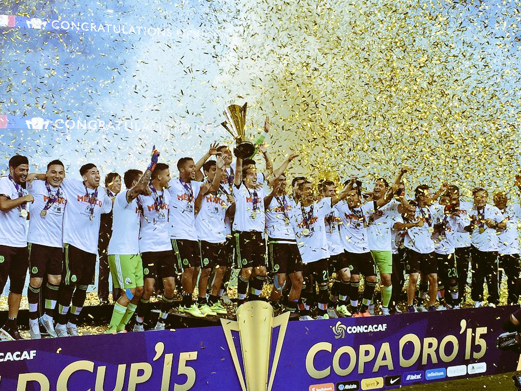 Mexico are your 2015 Gold Cup Champions! #ElTri http://t.co/eXOwpNW6VN
