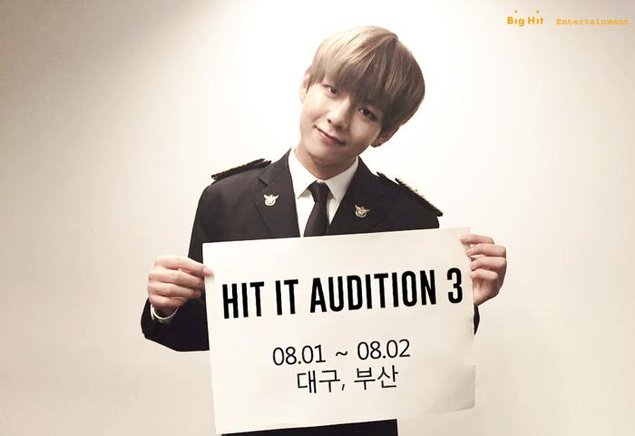 "[ Hit It Audition 3 대구, 부산 오프라인 예선 안내 ]  8월 1일 대구, 8월 2일 부산!  ""Hit It Audition 3"" 가 찾아갑니다. http://t.co/TZBkG3krcE http://t.co/Gjm7vUTDJh"