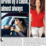 RT @Allupdatez: Driven by a cause, almost always @LakshmiManchu -->