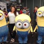 Mi mejor momento en #CPMX6 fue conocer tantas cosas nuevas, encontrarme viejos amigos y esta foto con los #Minions :) http://t.co/NuAcB0VAAu