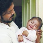 RT @_MSoma: Indeed a super cute moment.. ;)) @sreesanth36 wid his baby girl.. :)) http://t.co/w5mOSM8AAo