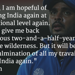 RT @Sportskeeda: .@sreesanth36 on his thoughts about playing for India again.  Full interview: http://t.co/9KJ6n9A7r6 http://t.co/AC33ffgQjb
