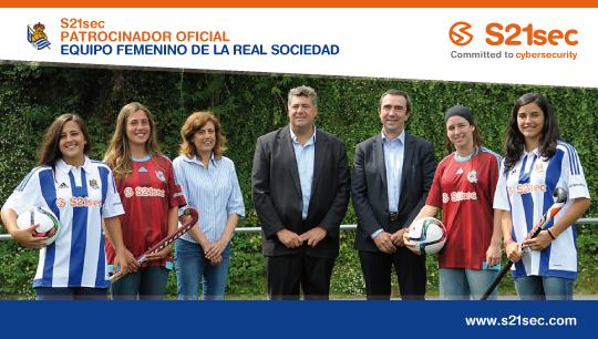 #S21sec firma un acuerdo con la @RealSociedad para apoyar el deporte femenino.  http://t.co/d2uybTqPLK http://t.co/ThhO5gj0ec