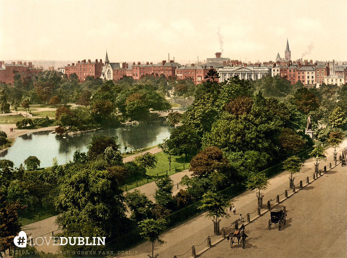 RT @VisitDublin: Happy Anniversary to Stephen's Green celebrating 135 years of being open to the public! otd http:…