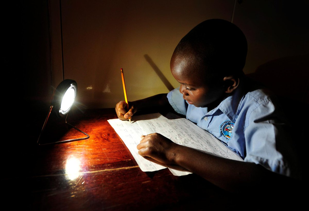 A source of clean, affordable light will help a child write their own future. http://t.co/Au82jnGS79 http://t.co/QzfRCKk2pl