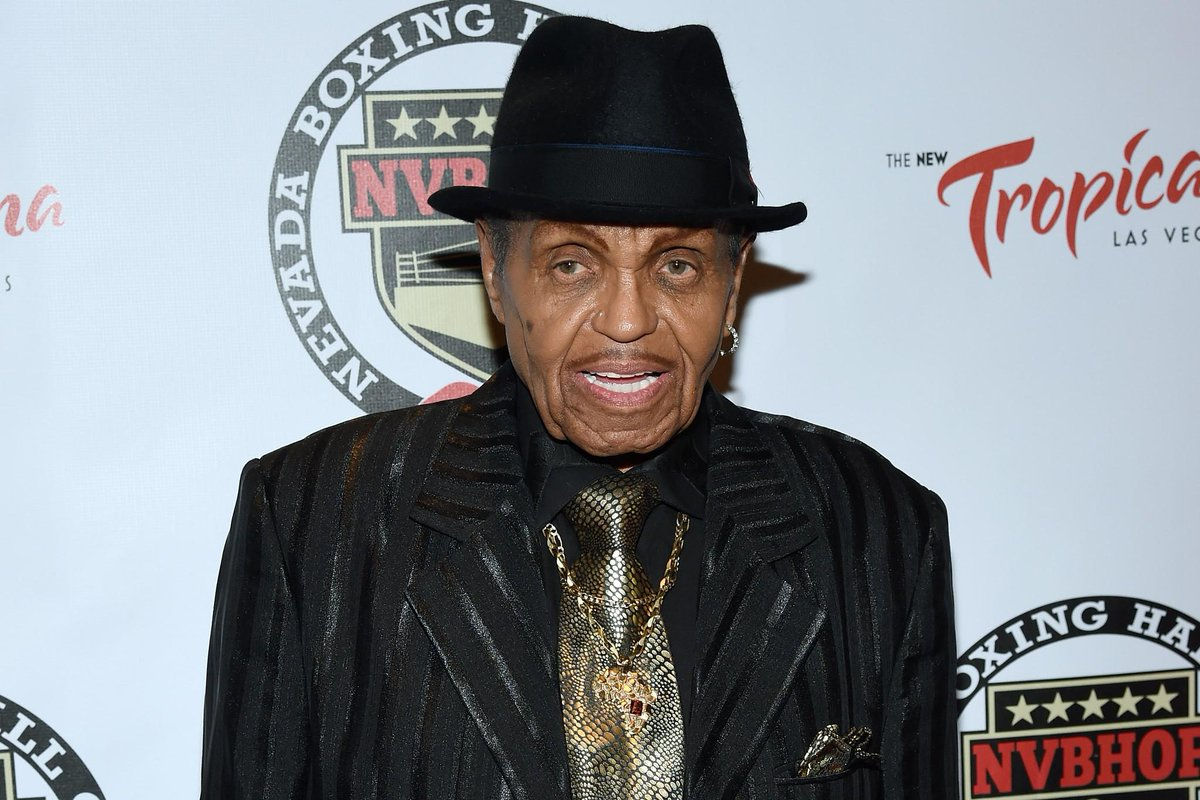 Joe Jackson, Michael Jackson's father, suffered a stroke in Brazil on his 87th birthday