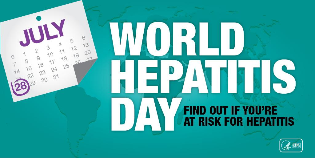 Are you at risk for viral #hepatitis? Should you be tested/vaccinated? http://t.co/1VYBqUzMXG #WorldHepatitisDay http://t.co/7FMgHypIjH