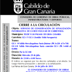 #Aviso: Cierre GC-3 (P.K.1+040 a 0+000) Merca a GC-1, 29 julio,23.00 a 6.00h. @avtorresp @AyuntamientoLPA @Ayun_Telde http://t.co/kPmLvMvsPs