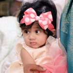 Here is the PIC of my cute lill niece Rithvika.. AnnaPrasana yesterday.. :-)