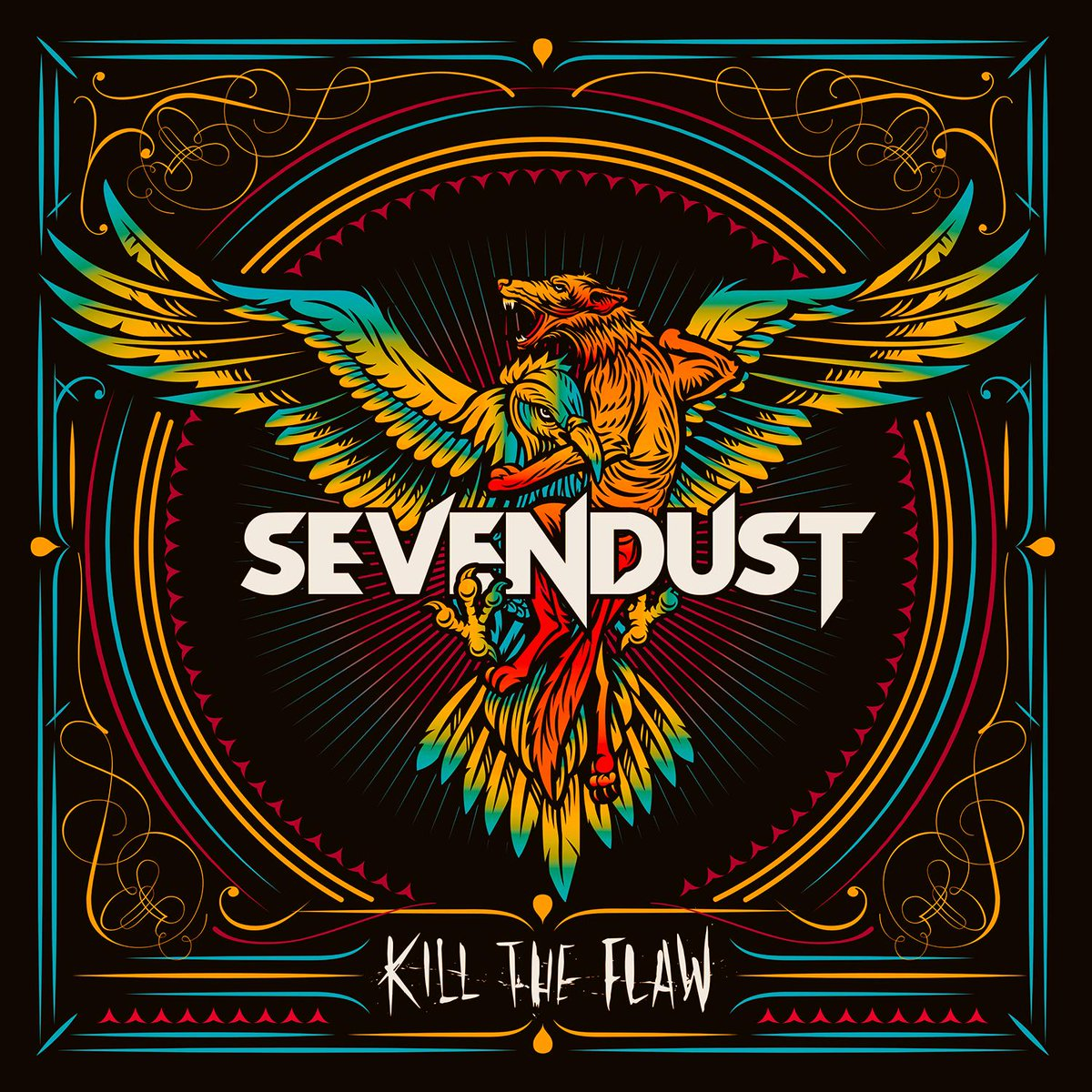 SEVENDUST ANNOUNCES NEW ALBUM - KILL THE FLAW - DUE OCTOBER 2! Details and pre-order at http://t.co/uZeSkG1e4y http://t.co/WiLebrrO9t