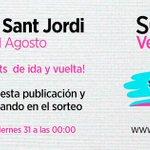 Sorteo de dos tickets para la Colonia de Sant Jordi! Si ya has reservado plaza, se canjeará tu ticket gratuito. 🚍🎉 http://t.co/HieFsRJajT