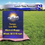 Planning your lunch break outside today? Its going to be a warm & muggy one! #wiwx #mnwx #iawx http://t.co/MeOZ0sI4ZB