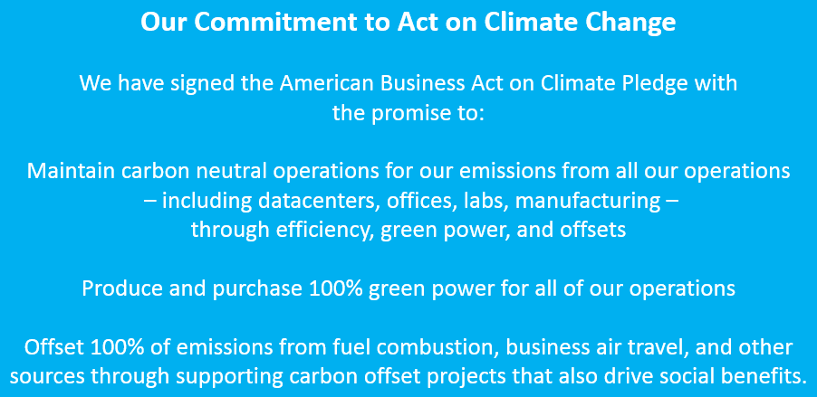Microsoft is committed to acting on #climatechange http://t.co/gDlUOxngVx @WhiteHouse http://t.co/JEquWxYNo9