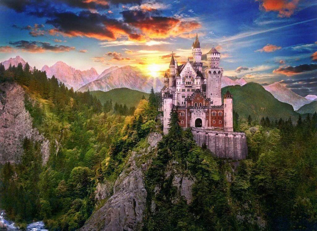 قلعة نويشفانشتاين في ألمانيا http://t.co/4xGckZrRu3