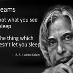 RT @AadhiOfficial: A visionary,d 'missile man' may b no mr bt D diffrnce he made wl continue t live in d dreams he created.. #RIPKalam http…