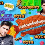 🙋  Mi voto en los #KCAMexico 🏆 es para MI GUAPO   • #LaloBrito 😍  • #LaloBritoFashionista 😎 @MundonickLA  😍❤️😘 http://t.co/jKh10Jj2p3