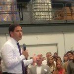 Marco Rubio speaking now at Brewery 85 in Greenville about Americas economy. commitment2016 http://t.co/Sv1Mxta03o