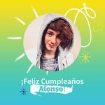 ¡Feliz Cumpleaños Alonso! Envíale tu también un mensaje de felicitaciones. @somosCD9 @soyalonsovillal http://t.co/D7AnHzKakz