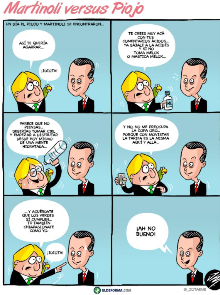 "El ""piojo"" le dio con todo a #Martinoli  que país tan chistoso tenemos. http://t.co/8osJXf5BnH"