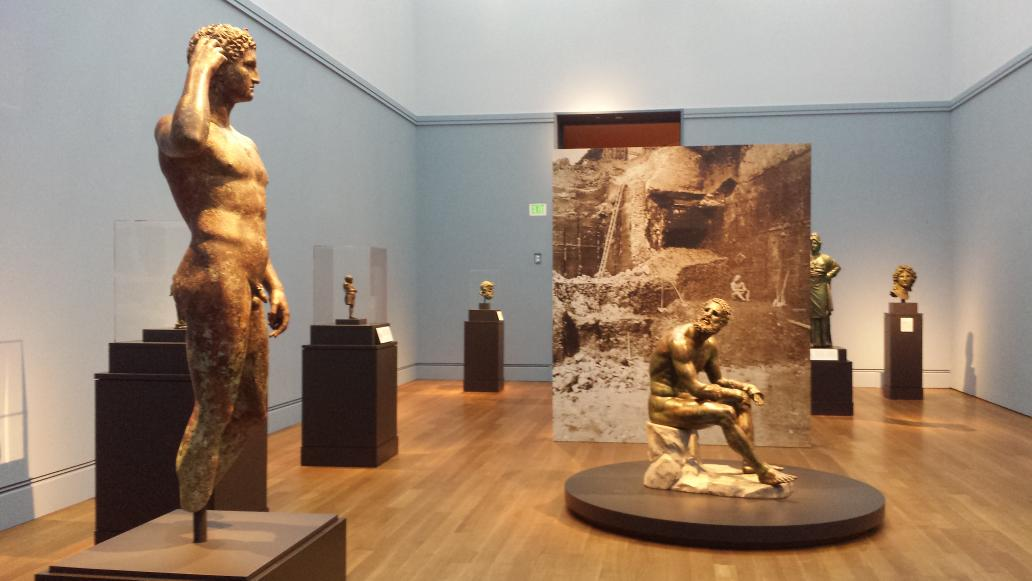 Just came from Hellenistic bronzes show @GettyMuseum. Review later, but for now: Wow. http://t.co/GZBsT3DGMf