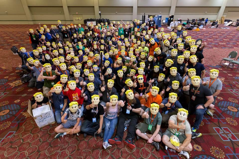 Thanks to the many faces that make QuakeCon possible each year! http://t.co/bHLd5JyCxb