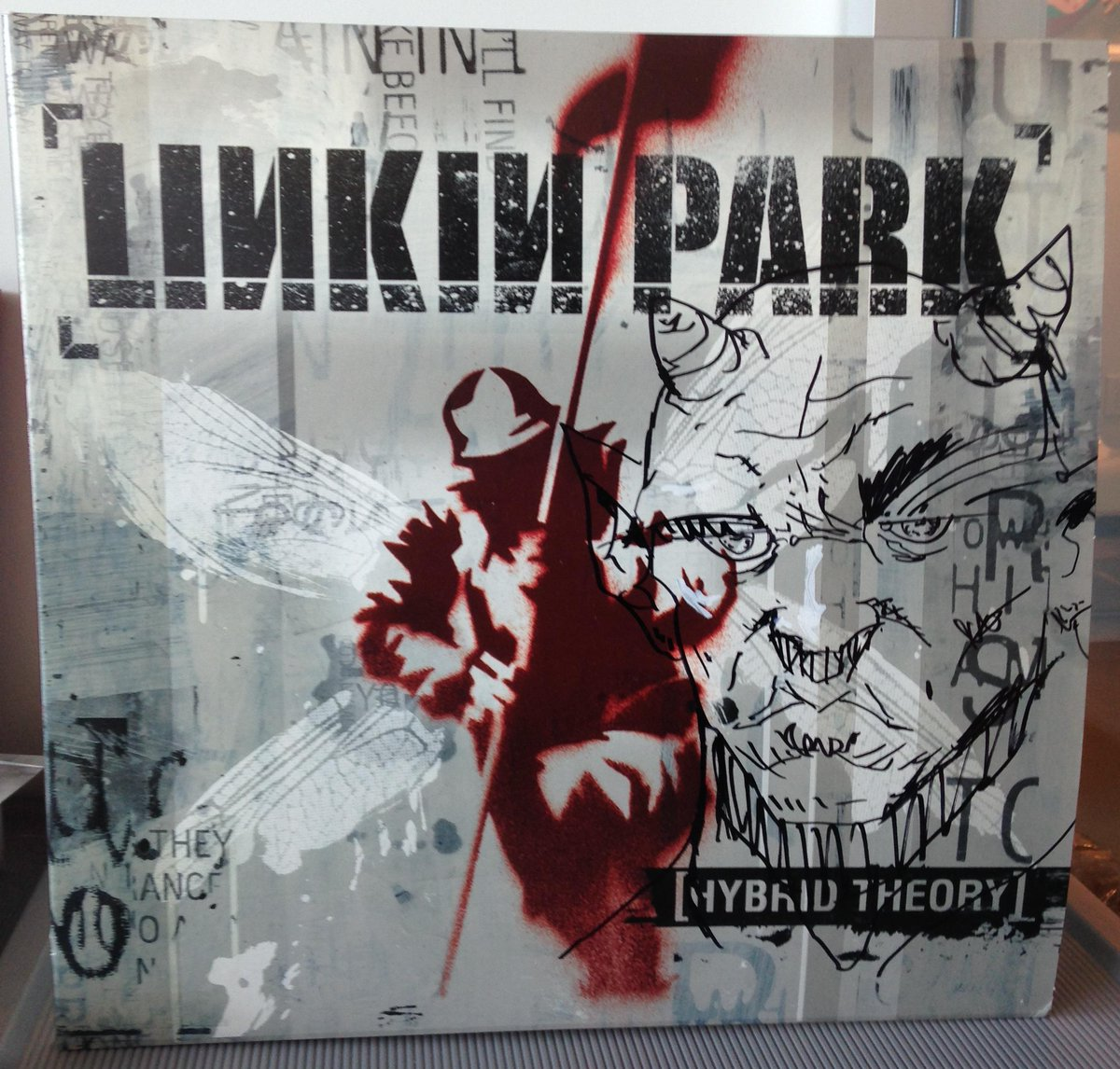 Collect @LinkinPark's rare 2000 #HybridTheory vinyl album w/ hand-drawn artwork by @joehahnLP http://t.co/2xRKOawqmA http://t.co/hLSWOzTmZO